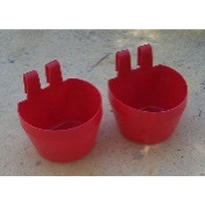 German 300ml Hook on Cup (Red)